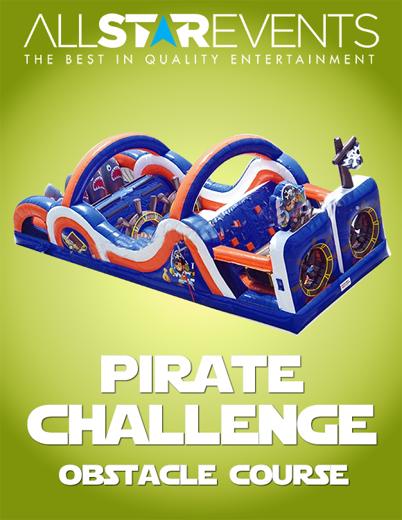 Pirate Challenge Obstacle Course
