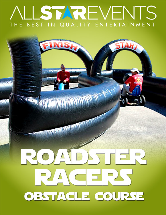 Roadster Racers w / 2 racers