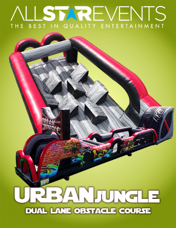Urban Jungle Obstacle Course