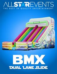 BMX Dual Lane Slide