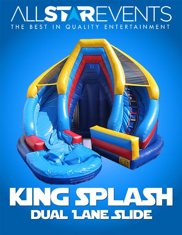 King Splash Slide