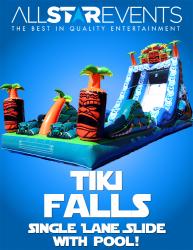 Tiki Falls Slide