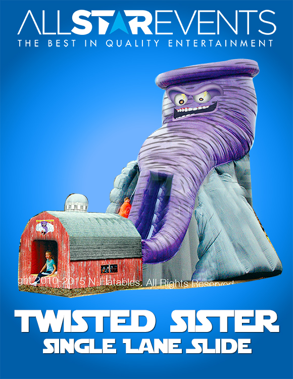 Twisted Twister Slide