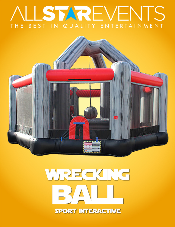Wrecking Crew- Ball Inflatable