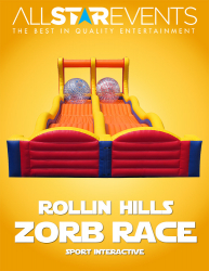 Rolling Hills Zorb Race
