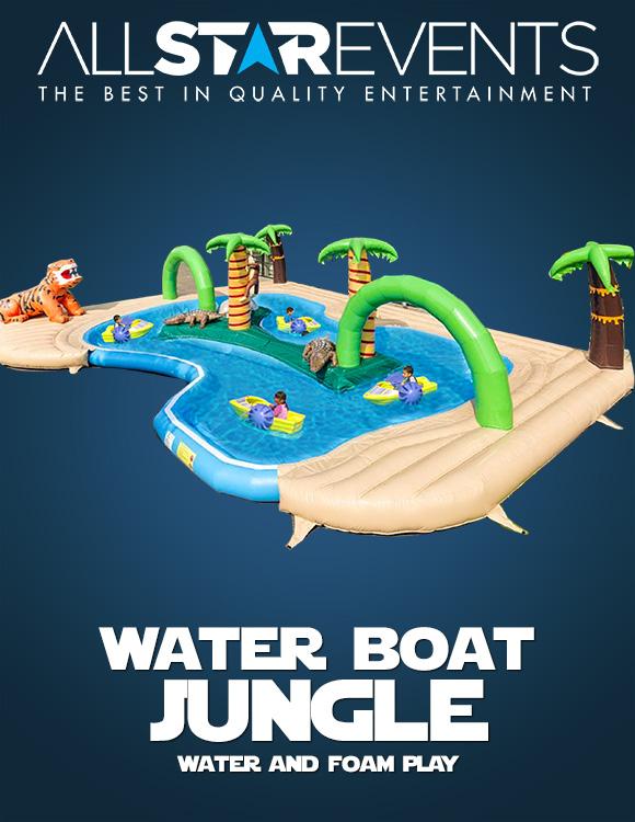 Waterboat World Jungle