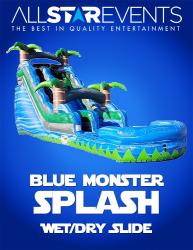 Blue Monster Slide