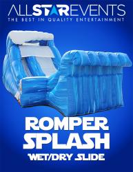 Romper Splash Slide