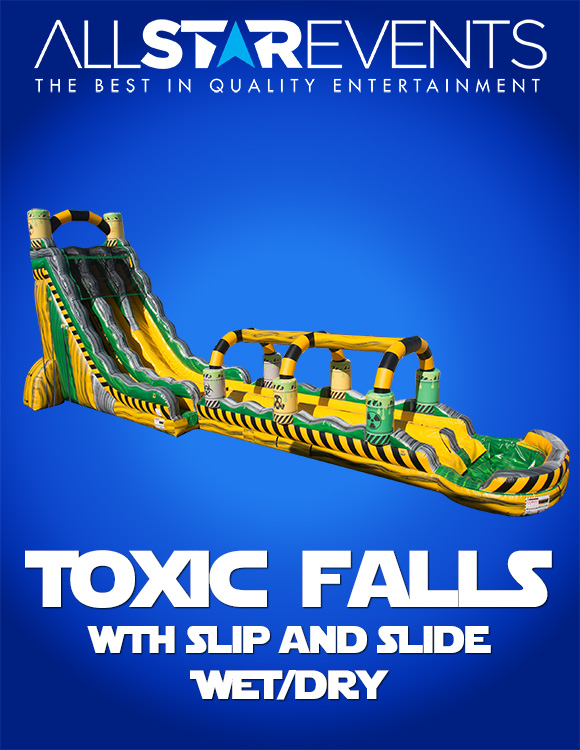 Toxic Falls w/slip 'n slide