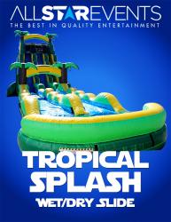 Tropical Splash Slide