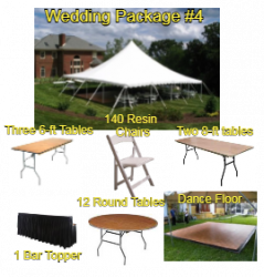 Wedding Package #4 - 100 Guests