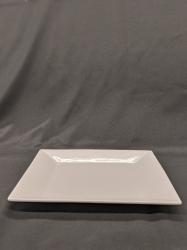 DINNER PLATE 10 SQUARE WHITE
