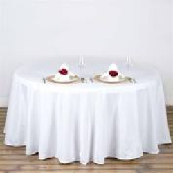 72 Round Table Linen