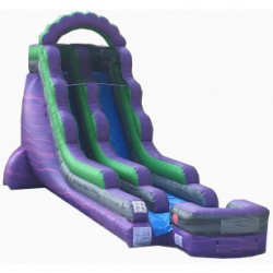 18' Purple Marble Waterslide