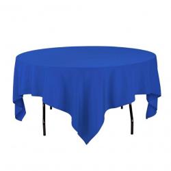 85 x 85 Square Linen - Cadet Blue