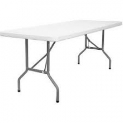 8'x 30 POLY TOP TABLE