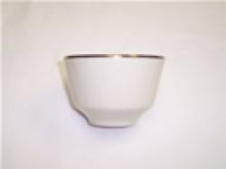 Bouillon Cup Cream W/Gold trim