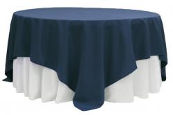 Linen 90 x 90 Navy Blue