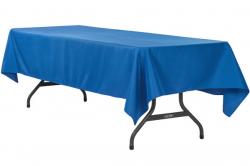 linen 60 x 120 Royal blue