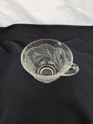 CUP COFFEE ROSE PATTERN
