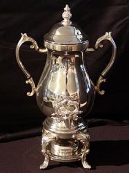 COFFEE URN 25 CUP SILVER