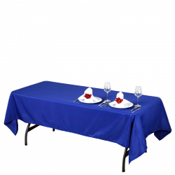 60 x 126 Linen - Cadet Blue