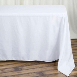 6ft Table Floor Length Tablecloth Linen