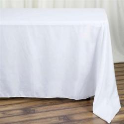 90 x 120 Linen - White