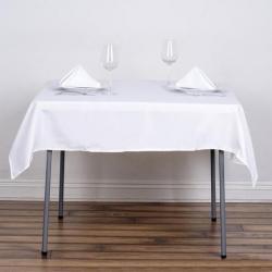 Linen 52 x 52 white