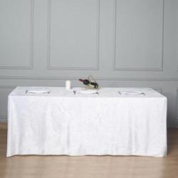 8FT Floor Length Table Cloths