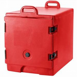 CAMBRO CARRIER RED HOLDS 6 PANS