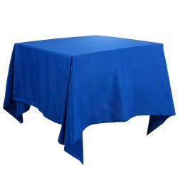 71 x 71 Square Linen - Cadet Blue
