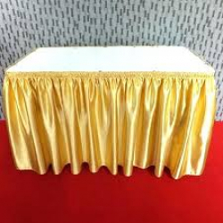 SKIRT YELLOW/GOLD 13'6 (48 rd or 6ft or 8ft)