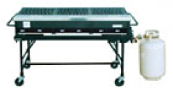 GAS GRILL 5'X2' OPEN