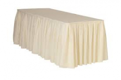 SKIRT IVORY 13FTx29 PREMIER ( 48rd 6ft,8ft or serp.)