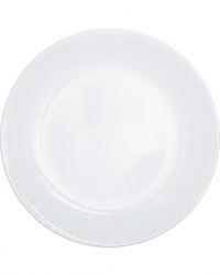 LUNCHEON PLATES WHITE / 8
