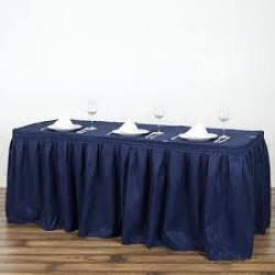 SKIRT NAVY BLUE 13'6 (48rd, 6ft or 8ft)