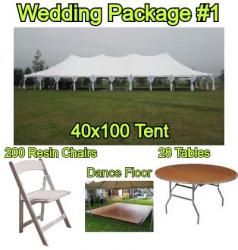 Wedding Package #1 - 200 Guests