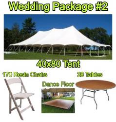 Wedding Package #2 - 170 Guests