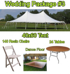 Wedding Package #3 - 140 Guests