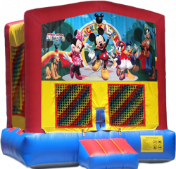 Mickey Mouse Clubhouse Modular Bounce House