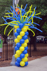 Balloon Tower 9ft