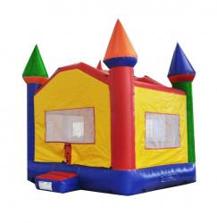 1004e83fc0d7797265534975d2e99756 Rainbow Castle Bounce House