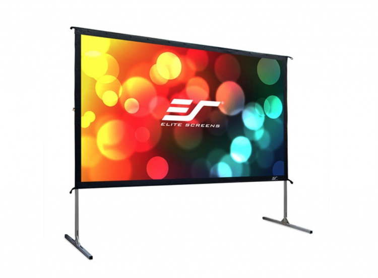 12-ft Framed Movie Screen (Rear Projection)