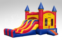 Dual Slide Bounce House Combo