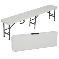 6' Folding Bench