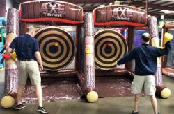 Dual Axe Throwing
