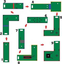 mini golf layout numbered 39734.1616532898 1616641379 LED Mini Golf 9 Hole