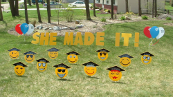 Graduation Yard Greeting