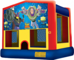 Toy Story Theme Deluxe Themed Bounce House Combo